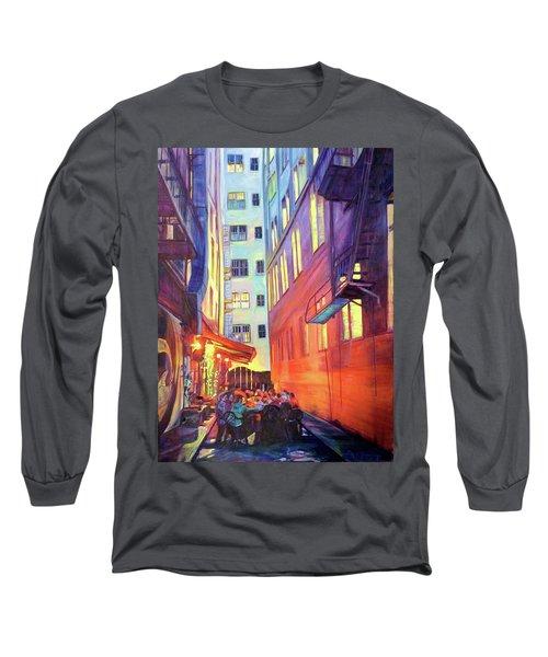 Heart Of The City Long Sleeve T-Shirt by Bonnie Lambert