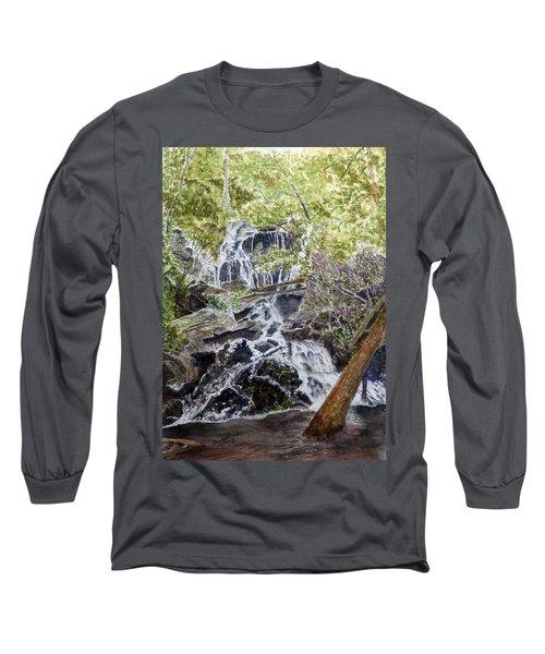 Heart Of The Forest Long Sleeve T-Shirt by Joel Deutsch