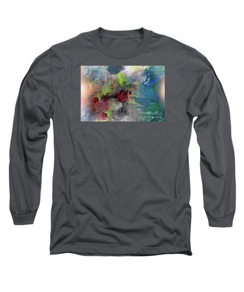 Long Sleeve T-Shirt featuring the painting Heart Of The Matter by Allison Ashton