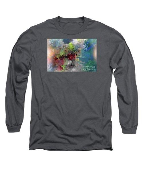 Heart Of The Matter Long Sleeve T-Shirt by Allison Ashton