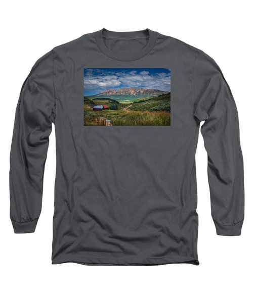 Heartland Of The Colorado Rockies Long Sleeve T-Shirt