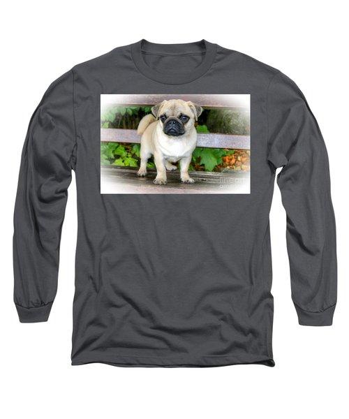 Heathcliff The Pug Long Sleeve T-Shirt