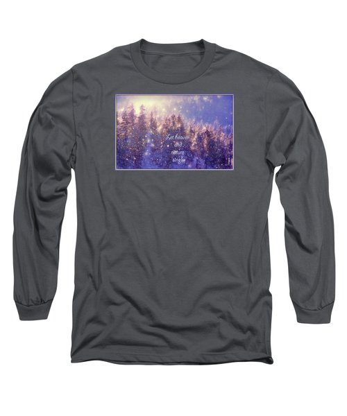 Heaven And Nature Long Sleeve T-Shirt by Kathy Bassett