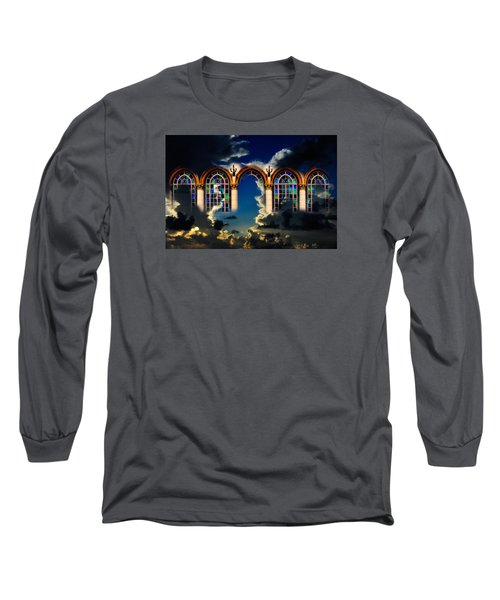 Long Sleeve T-Shirt featuring the photograph Heaven by Harry Spitz
