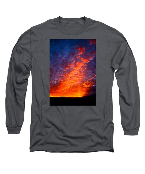 Heavenly Flames Long Sleeve T-Shirt