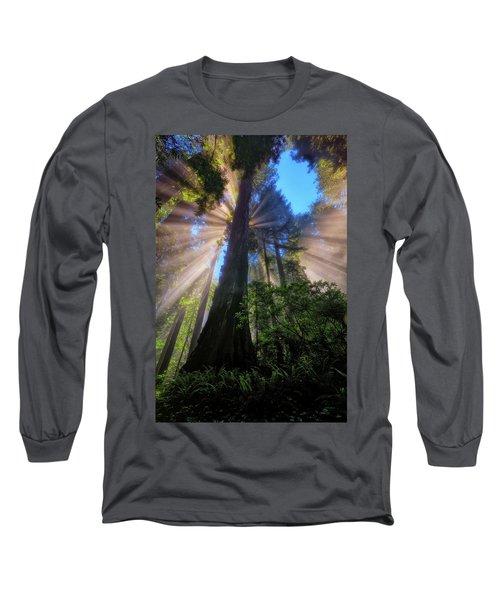 Heavenly Light Rays Long Sleeve T-Shirt
