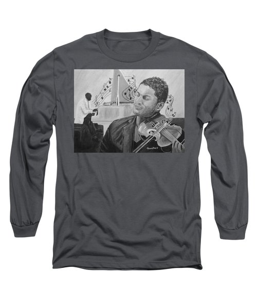 Heavenly Music Long Sleeve T-Shirt by Quwatha Valentine