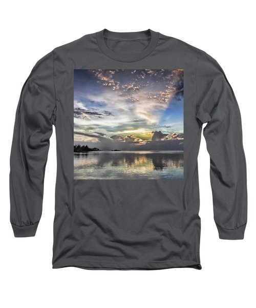 Heaven's Light - Coyaba, Ironshore Long Sleeve T-Shirt by John Edwards
