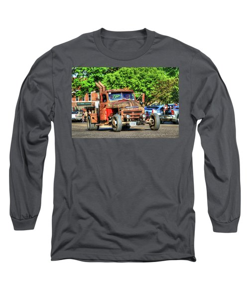 Heavy Duty Custom Dodge Long Sleeve T-Shirt