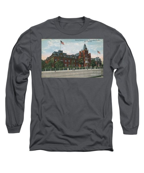 Long Sleeve T-Shirt featuring the photograph Hebrew Orphan Asylum by Cole Thompson