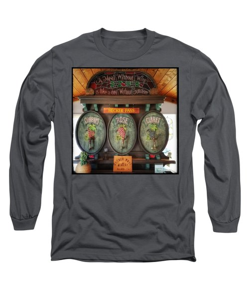 Hecker Pass Winery  Long Sleeve T-Shirt