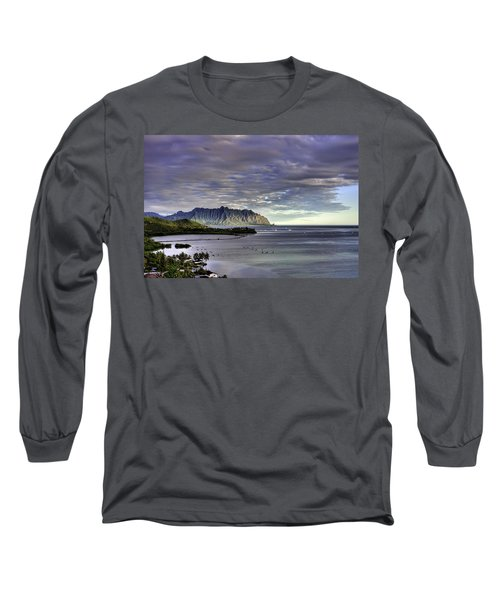 He'eia And Kualoa 2nd Crop Long Sleeve T-Shirt