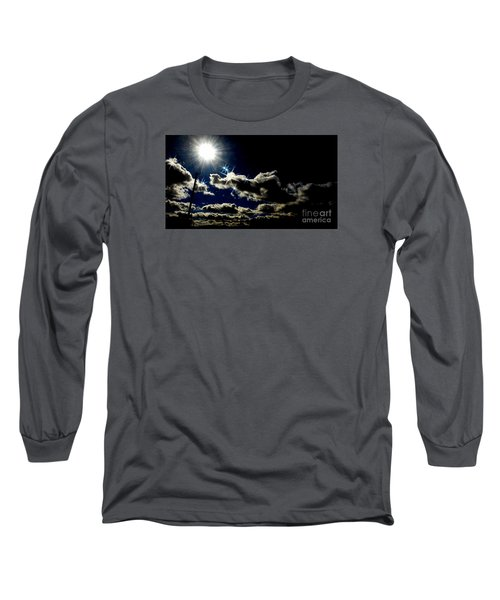 Heinlein's Horizon Long Sleeve T-Shirt by Jesse Ciazza