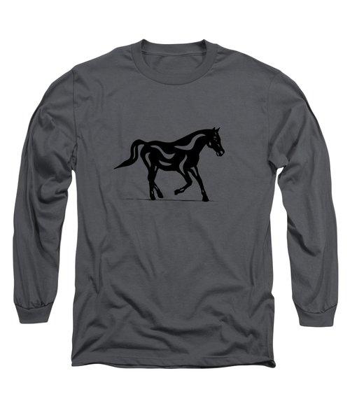 Heinrich - Abstract Horse Long Sleeve T-Shirt