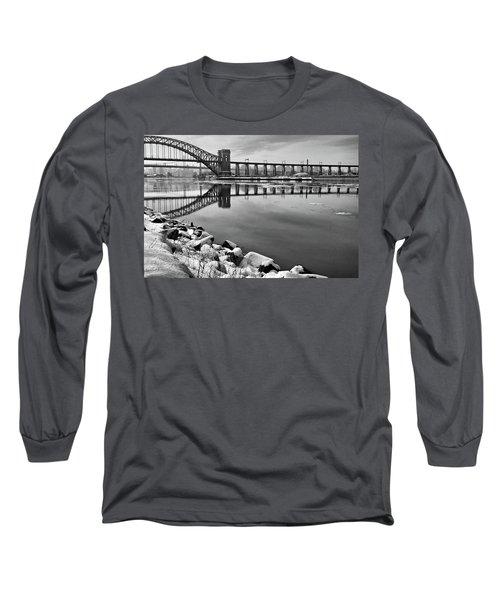 Hellgate Half Reflection Long Sleeve T-Shirt