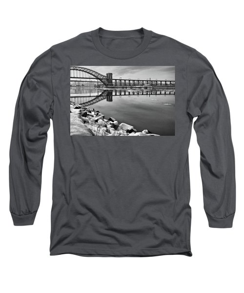 Hellgate Half Reflection Long Sleeve T-Shirt