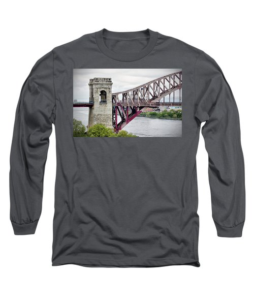 Hellgate In Grey Long Sleeve T-Shirt