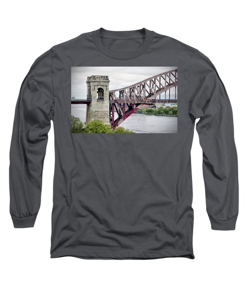 Hellgate In Grey Long Sleeve T-Shirt