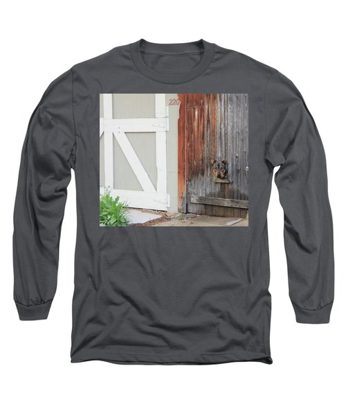 Long Sleeve T-Shirt featuring the photograph Hello, Comet by Christin Brodie