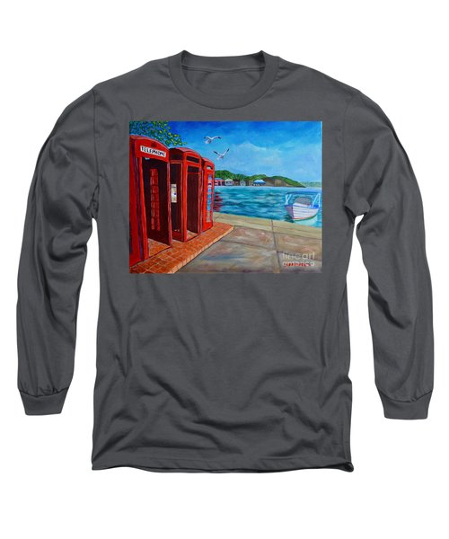 Hello, It's Me, I'm On The Carenage Long Sleeve T-Shirt