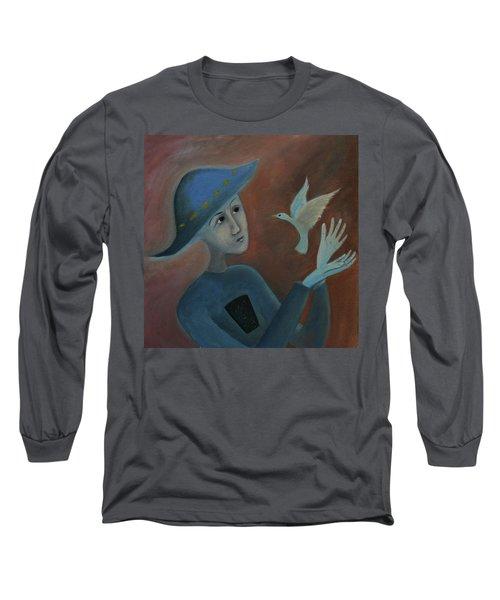 Hello To You Long Sleeve T-Shirt by Tone Aanderaa