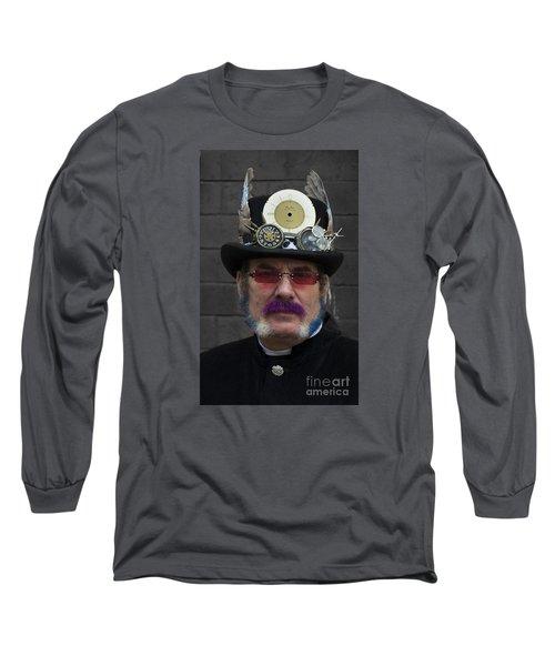 Hello Vicar Long Sleeve T-Shirt by David  Hollingworth