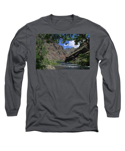 Hells Canyon Snake River Long Sleeve T-Shirt