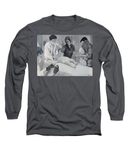 Help Long Sleeve T-Shirt