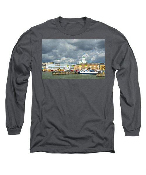 Helsinki, South Harbor Long Sleeve T-Shirt