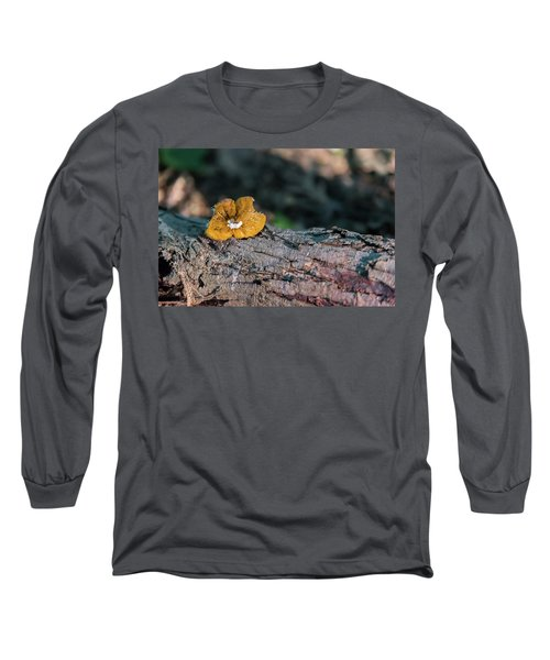 Hen Of The Woods Mushroom Long Sleeve T-Shirt