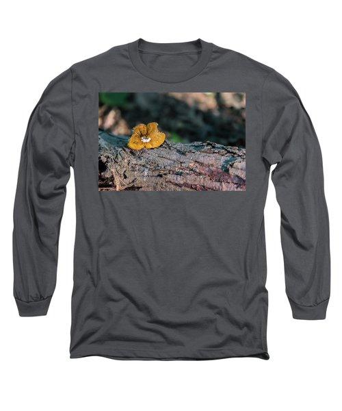 Hen Of The Woods Mushroom Long Sleeve T-Shirt