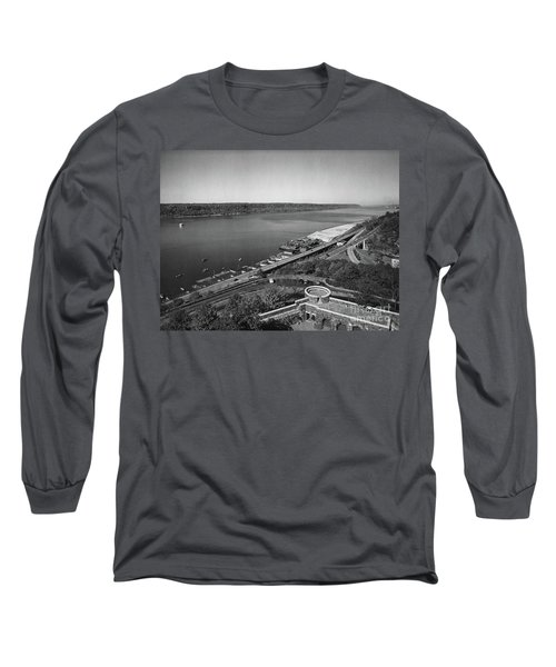 Long Sleeve T-Shirt featuring the photograph Henry Hudson Parkway, 1936 by Cole Thompson