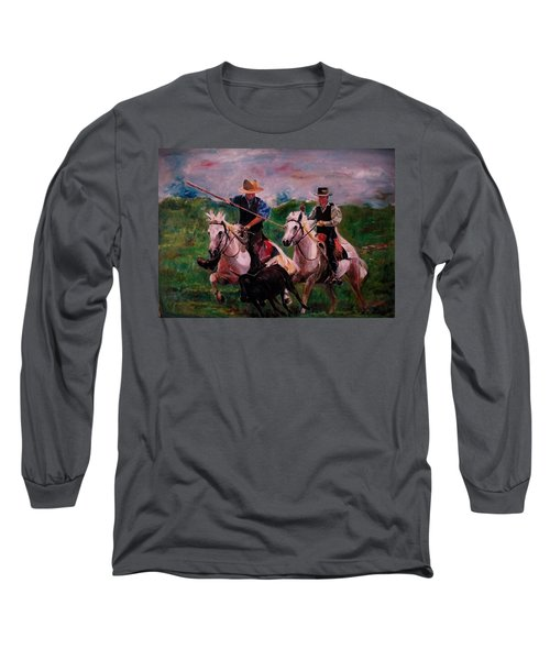 Herdsmen Long Sleeve T-Shirt by Khalid Saeed
