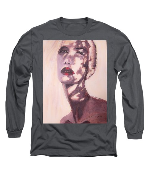 Long Sleeve T-Shirt featuring the painting Here Comes The Sun  by Jarko Aka Lui Grande