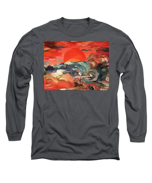 Here Comes The Weekend Aka Indian Rocks Beach Sunset Long Sleeve T-Shirt