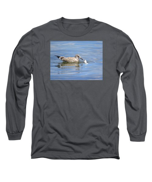 Long Sleeve T-Shirt featuring the photograph Here Fishy Fishy by Phyllis Beiser