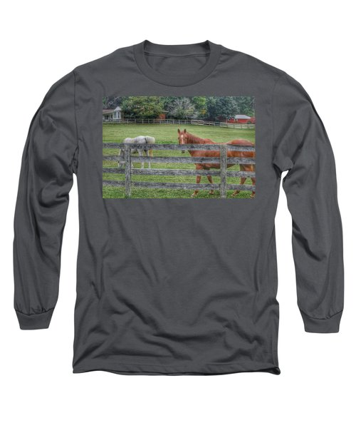 1007 - Here's Looking At You Long Sleeve T-Shirt