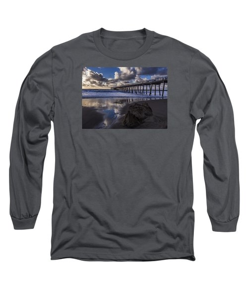 Hermosa Beach Pier Long Sleeve T-Shirt