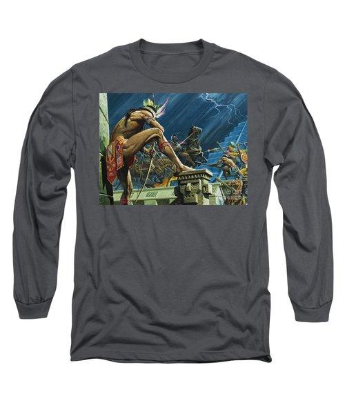 Hernando Cortes Long Sleeve T-Shirt