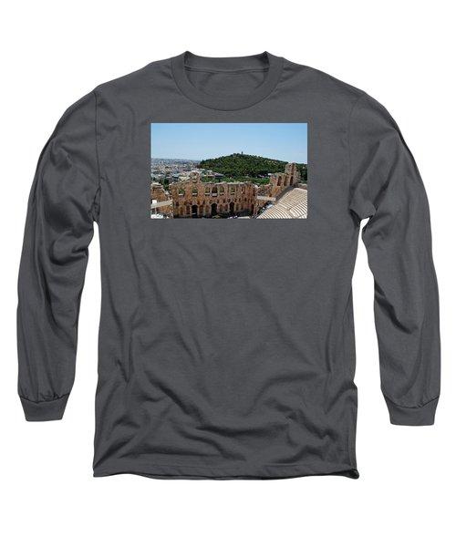 Herodeons Amphitheatre Long Sleeve T-Shirt