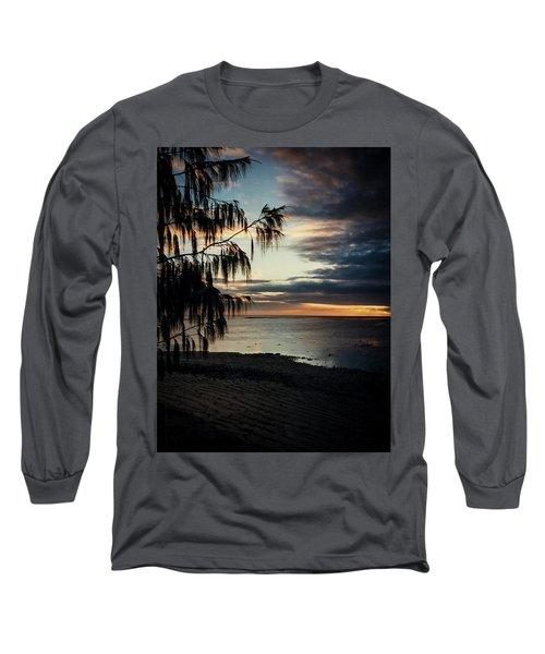 Heron Island Sunset  Long Sleeve T-Shirt