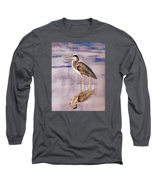 Heron No. 2 Long Sleeve T-Shirt