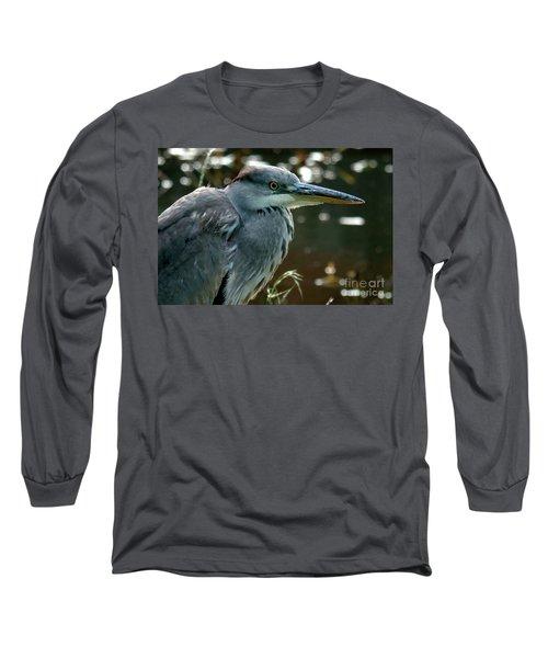 Herons Looking At You Kid Long Sleeve T-Shirt