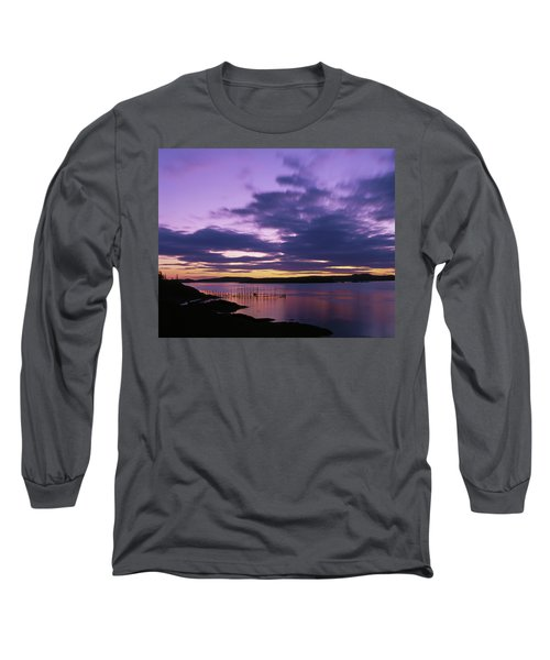 Herring Weir, Sunset Long Sleeve T-Shirt