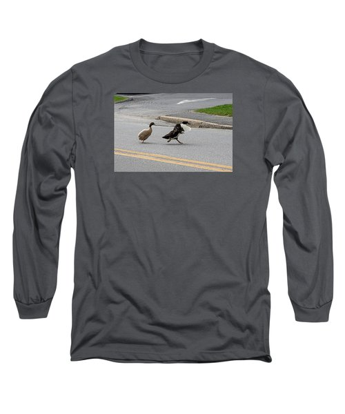 Hey, No Wings Allowed Long Sleeve T-Shirt