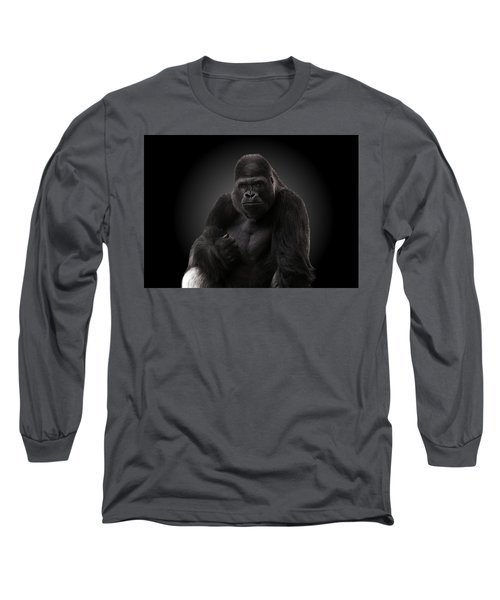 Hey There - Gorilla Long Sleeve T-Shirt