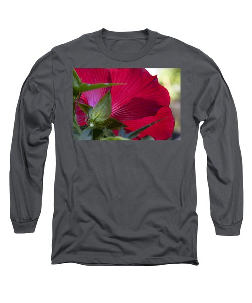 Long Sleeve T-Shirt featuring the photograph Hibiscus by Charles Harden