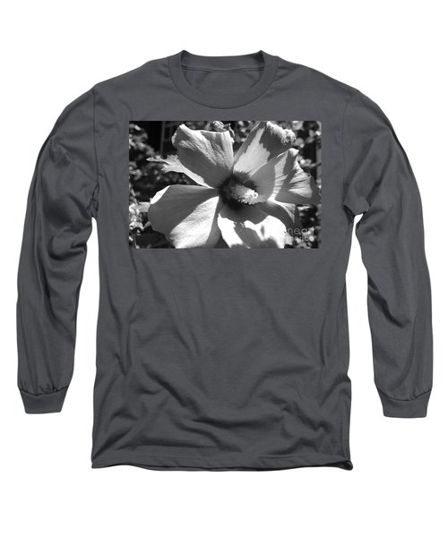 Hibiscus In Bloom Long Sleeve T-Shirt