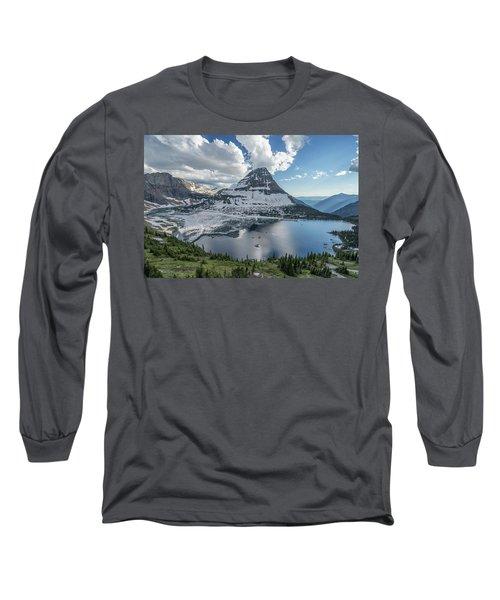 Hidden Lake Long Sleeve T-Shirt by Alpha Wanderlust