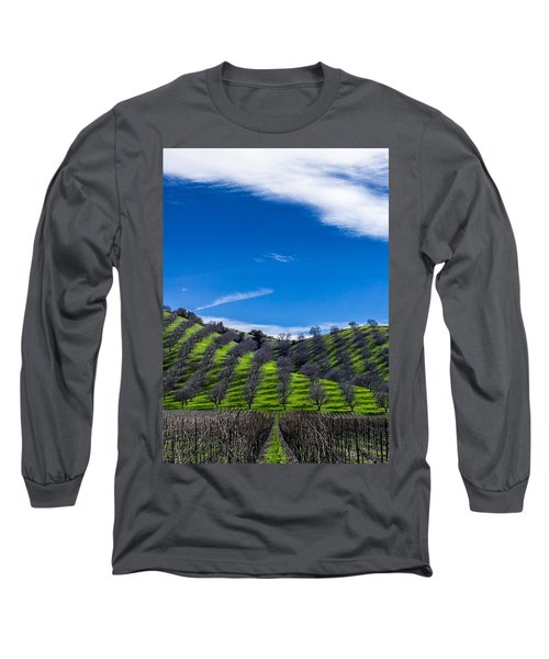 Hidden Valley Hills Long Sleeve T-Shirt